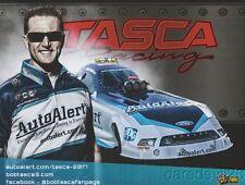 "2017 Bob Tasca Iii Auto Alert ""No Border"" Shelby Ford Mustang Fc Nhra postcard"
