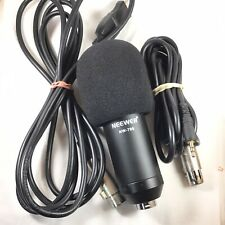 Neewer NW-700 Condenser Cable Professional Microphone USB & Jack Cables UNTESTED