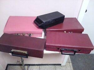 5 Kassettenkoffer vintage mc Aufbewahrung