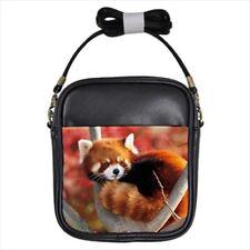 Red Panda Leather Sling Bag (Crossbody Shoulder) & Women's Handbag