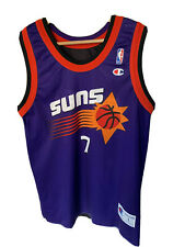 Reversible 2 in 1 NBA jersey Kevin Johnson 7 Phoenix Suns Champion size L 44