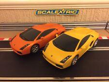 Scalextric Digital Lamborghini Gallardo Twin Pack Excellent Condition