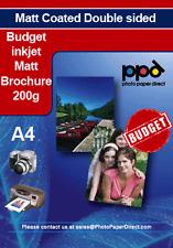 Inkjet Double Sided Brochure Paper 200g Matt x 40 Sheet