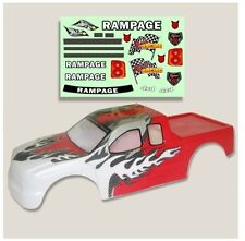 Redcat Racing 1/5 Truck Body Red and White with Decal Sheet Part 50902