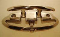 """FOLDING CLEAT Mount Accon Boat Hardware Stainless Steel 316 grade - 3 1/2"""""""