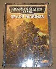 40k Rare oop Vintage 4th Edition Space Marine Codex