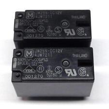 2 Stück JW2SN-DC12V Panasonic Print-Leistungsrelais 12 VDC 530 mW (M3816)