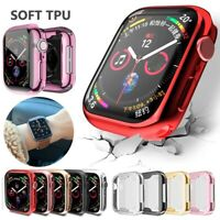 360° Protector TPU Case Cover 38/40/44/42 mm For Apple Watch series 6 SE 5 4 3 2