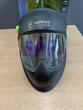 OPTREL PANORAMAXX Expert Series Welding Helmet SWISS MADE. comes with extra lens