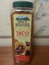 Spice Islands Taco Seasoning 24.5oz w/chipotle, cocoa powder & cornmeal