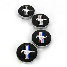 Fits Ford Mustang Running Horse Emblem Logo Wheel Center Hub Caps 60mm 4PCS