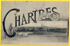 cpa Correspondance Militaire CHARTRES Eure et Loir 2 Juillet 1915 Moutons Berger
