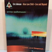 Eric Johnston Alien Love Child Live And Beyond Heavy Metal Guitar Tab Music Book