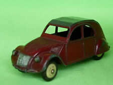 DINKY TOYS  1:43  CITROEN 2CV  -  MADE IN FRANCE    -    IN  VERY GOOD CONDITION