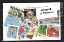 Rhodesia - Rhodesia 25 stamps different
