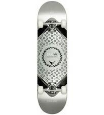 """Playlife Komplettboard Skateboard Hardcore Silver, 31""""x8"""""""