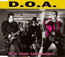 D.O.A. It's not unusual... CD neuf scellé