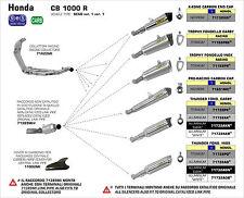 SILENCIEUX ARROW ALU HONDA CB 1000 R 2008/16 - 71732AO
