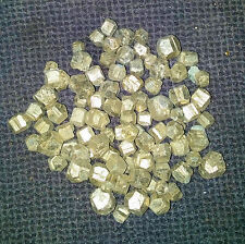 30 x Iron Pyrite Rough Nuggets 4mm-8mm Spain Mineral Crystal Wholesale