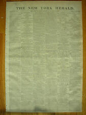 The New York Herald newspaper January 24, 1878, The Royal Wedding, Indian War