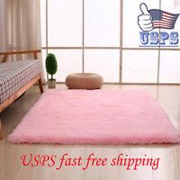 Large medium Shaggy Rugs Modern Plain cheap Soft Pile Area Child Rug Carpet Mat
