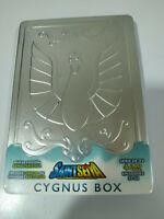 SAINT SEIYA LOS CABALLEROS DEL ZODIACO Cygnus BOX STEELBOOK METALICA 4 x DVD 3T