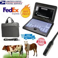 Veterinary full digital ultrasound scanner portable laptop machine, 7.5m Rectal