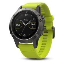 Garmin Fenix 5 GPS Montre Gris Ardoise avec Bracelet Amp Jaune