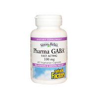 Natural Factors Stress-Relax Pharma GABA, 60 Vegetarian Capsules