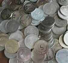 57 x 5 DM Münzen zum Sammeln oder für alte Geldspielgeräte usw.