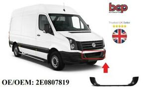 VW CRAFTER 2006 - 2016 FRONT BUMPER LOWER GRILLE MOULDING 2E0807819 SEE IMAGES