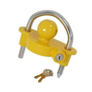 UNIVERSAL  SECURITY COUPING HITCH THEF HORSE LOCK TRAILER CARAVAN TOW BALL  SAFE