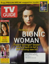 TV Guide October 2007 - Bionic Woman - Prison Break - Sex & The City - CSI - NM