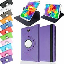 PU LEATHER ROTATING STAND COVER CASE SLEEP/WAKE FOR SAMSUNG GALAXY TAB 4 7.0""