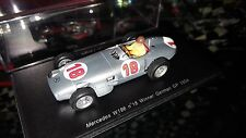 Spark 1:43 Mercedes W196 Juan Manuel Fangio Winner German GP 1954 World Champion