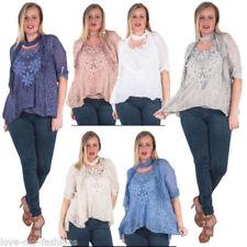 Camisas y tops de mujer de color principal blanco de viscosa/rayón