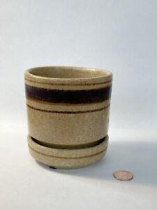 Vintage Mid Century Modern Ceramic Art Pottery Planter 70's Treasure Craft Small
