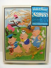 vintage Walt Disney 3 LITTLE PIGS  140pcs puzzle