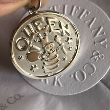Tiffany & Co. Queen Bee Coin Charm .925 Sterling Silver NEW