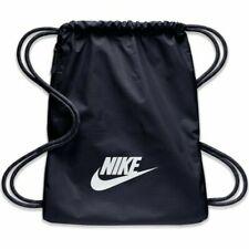 Nike Heritage 2.0 Backpack Gym Sack Obsidian White BA5901-451