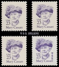 Mary Cassatt 2181 2181a 2181b 2181c Great Americans 23c Variety Set MNH -Buy Now