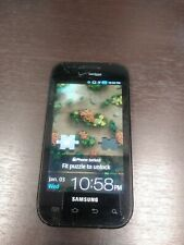 GOOD Samsung SCH-i500 Fascinate Verizon Cell Phone  parts only cracked screen