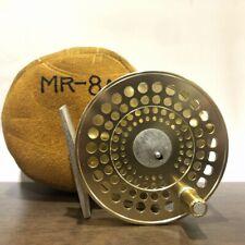 Old Marryat MR8A Fly Reel Gold color -USED-