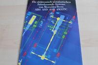 122524) Mercedes ABS - ASD - ASR - 4matic - Prospekt 06/1986