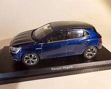Renault megane 2015, azul, norev, 1:43