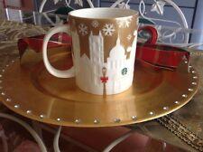 Starbucks London Skyline Collector's Christmas Cup Golden 2014  (ships Nov. 9)