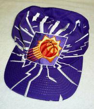 Vintage NBA 1990's PHOENIX SUNS Snapback Cap Hat RAISED 3D EMBLEM with BURST!