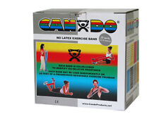 CanDo Latex Free Exercise Band-25 yard roll-Silver-xx-heavy-1364822 10-5636 NEW