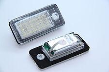 LED SMD Xenon iluminación de la matrícula audi q7 a3 s3 8p a4 s4 b6 b7 a6 s6 c6 4f