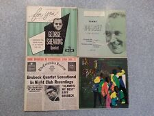 "Lot 5 Jazz 7"" records Dorsey, The Ink Spots, George Shearing, Brubeck Quartet"